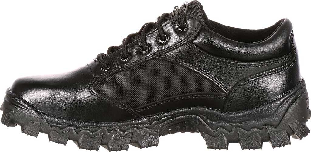 Men's Rocky AlphaForce Oxford 2168, Black Leather, large, image 2