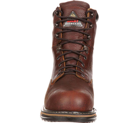 """Men's Rocky 8"""" IronClad 6693 Boot, Bridle Brown Leather, large, image 4"""
