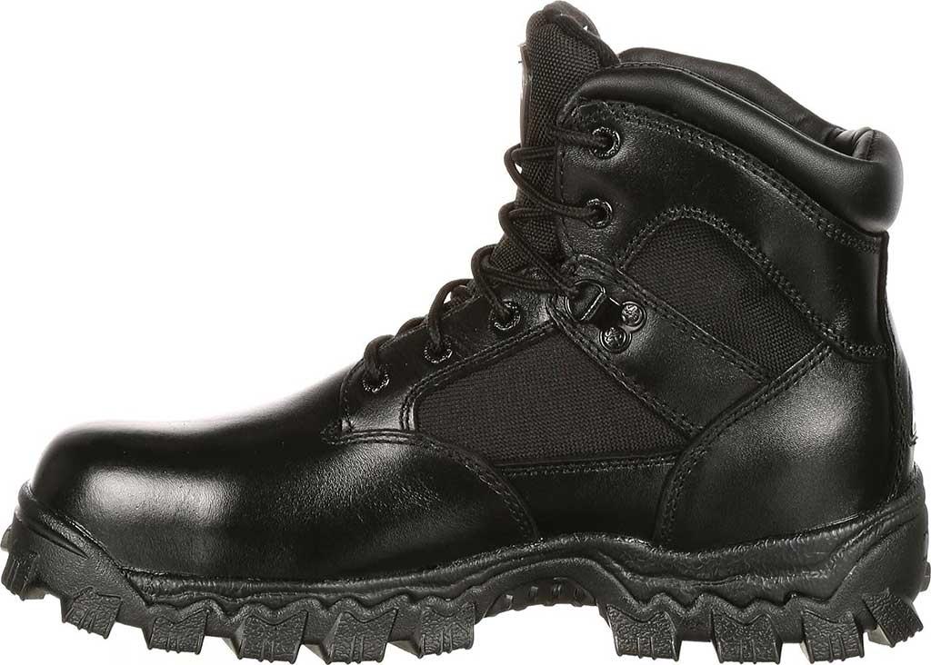 "Men's Rocky 6"" AlphaForce 6167 Boot, Black Leather, large, image 2"