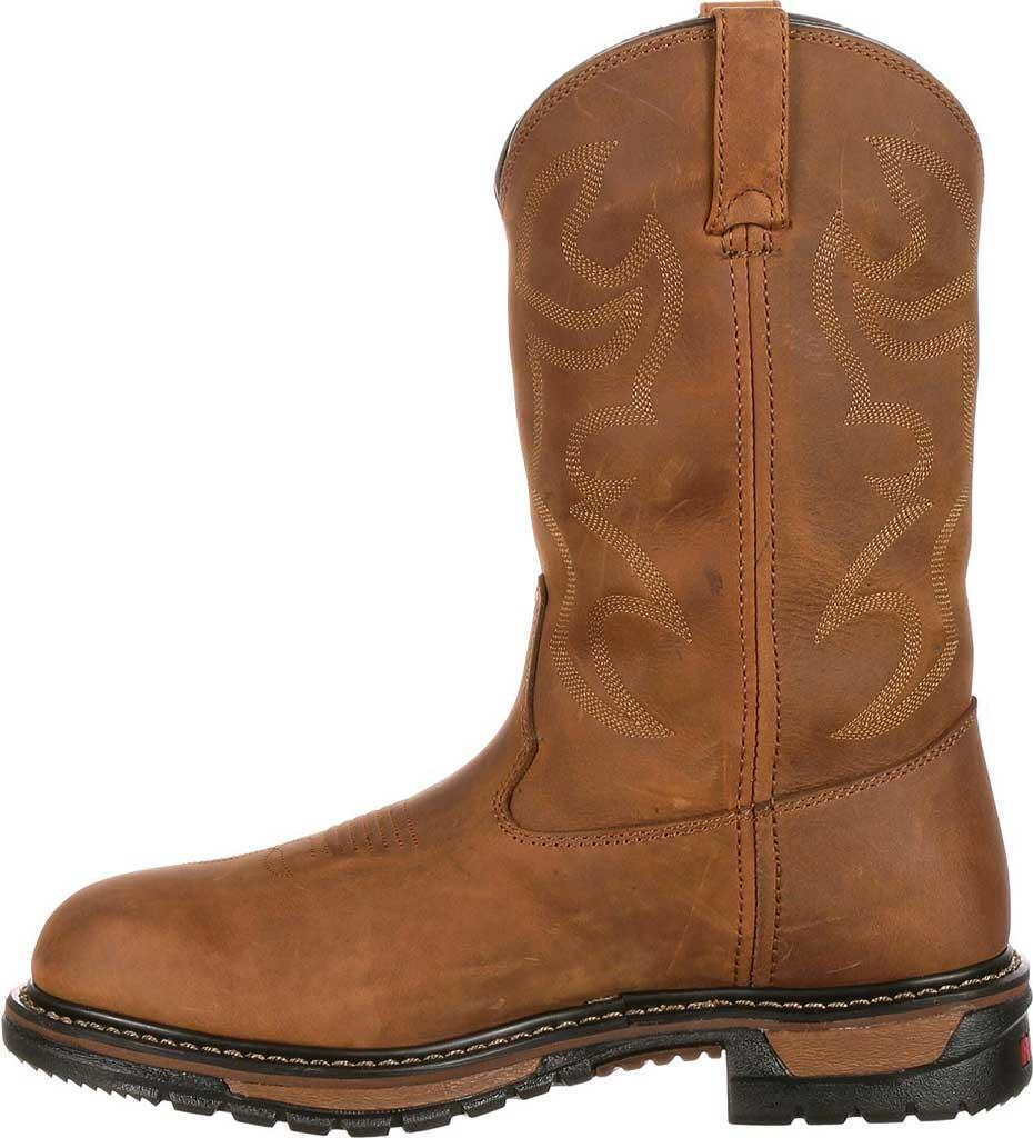 "Men's Rocky 11"" Branson Roper 2733, Aztec Crazy Horse Leather, large, image 3"