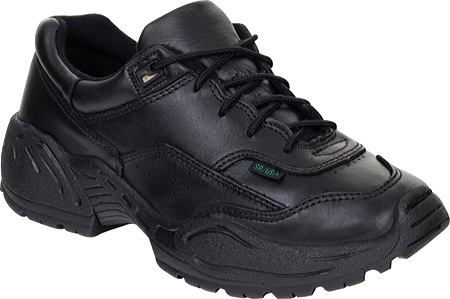 Women's Rocky 911 Athletic Oxford 9112101, Black Leather, large, image 1