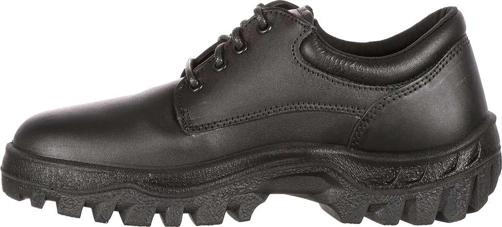 Men's Rocky TMC Plain Toe Oxford 5000, Black Leather, large, image 3