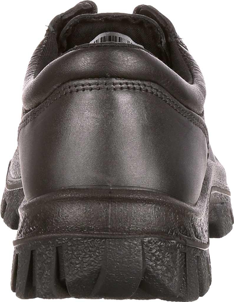 Men's Rocky TMC Plain Toe Oxford 5000, Black Leather, large, image 5
