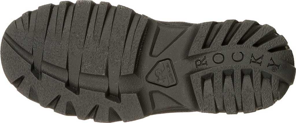 Men's Rocky TMC Plain Toe Oxford 5000, Black Leather, large, image 7