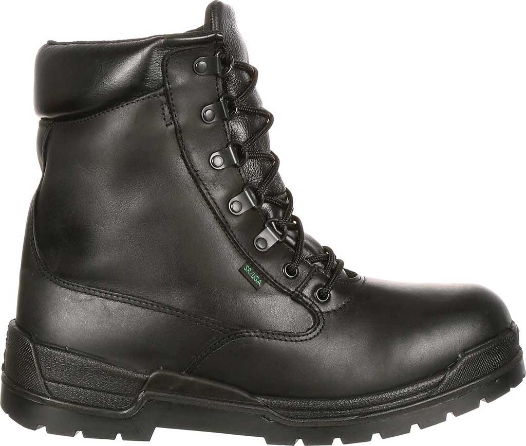 "Men's Rocky 8"" Eliminator 81321, Black Leather, large, image 2"