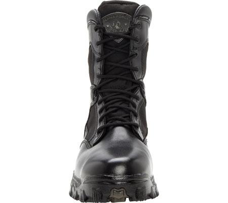 "Men's Rocky 8"" AlphaForce 2165, Black Leather, large, image 3"