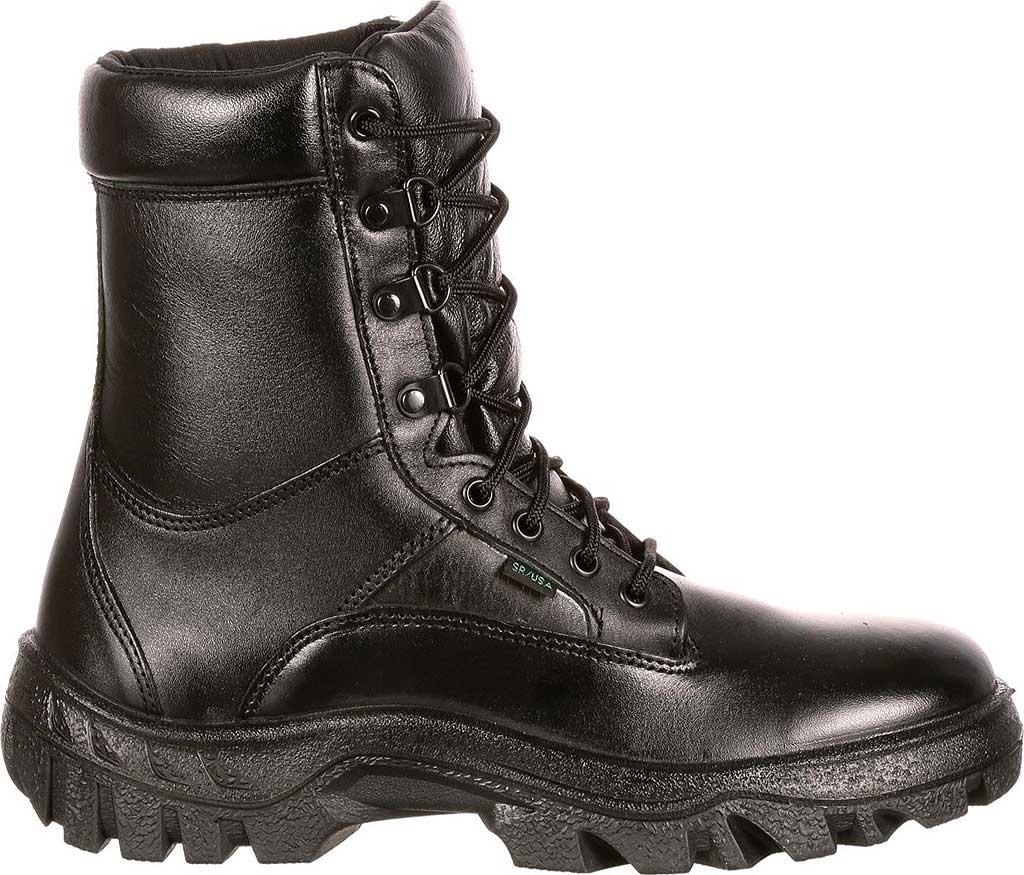 "Men's Rocky 8"" TMC Plain Toe 5010, Black Leather, large, image 2"