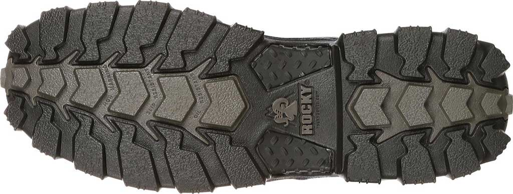 "Women's Rocky AlphaForce 6"" Waterproof Work Boot 4165, Black Leather, large, image 4"