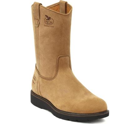 "Men's Georgia Boot G44 11"" Comfort Core Wellington Boot, Tan Cheyenne SPR Leather, large, image 1"