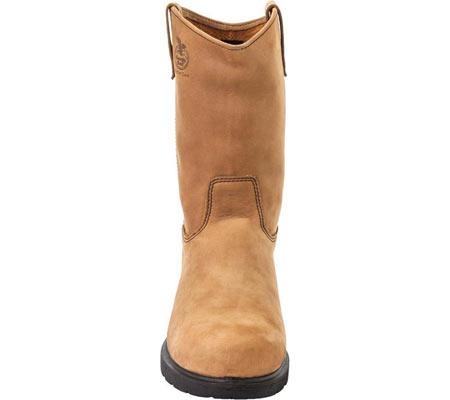 "Men's Georgia Boot G44 11"" Comfort Core Wellington Boot, Tan Cheyenne SPR Leather, large, image 4"