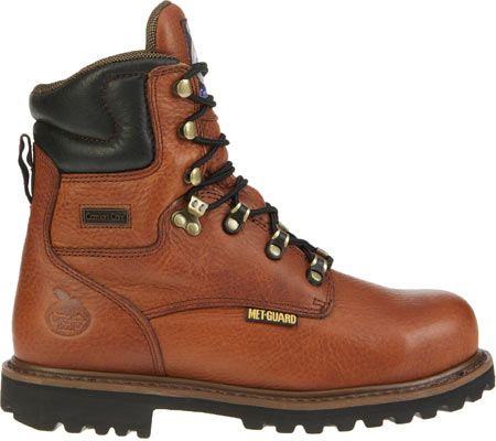 "Men's Georgia Boot G83 8"" Metatarsal Comfort Core Welt Work Boot, Greasy Briar Full Grain Leather, large, image 2"