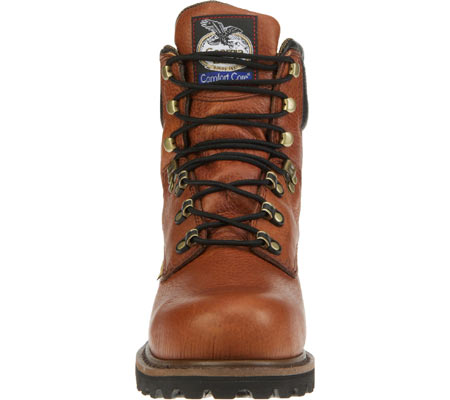 "Men's Georgia Boot G83 8"" Metatarsal Comfort Core Welt Work Boot, Greasy Briar Full Grain Leather, large, image 3"