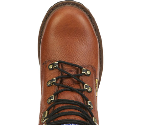 "Men's Georgia Boot G83 8"" Metatarsal Comfort Core Welt Work Boot, Greasy Briar Full Grain Leather, large, image 5"