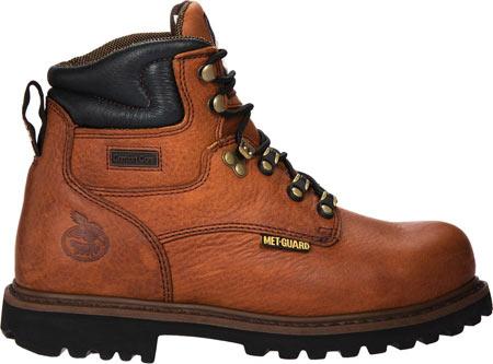 "Men's Georgia Boot G63 6"" Metatarsal Comfort Core Welt Work Boot, Greasy Briar Full Grain Leather, large, image 2"