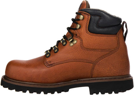 "Men's Georgia Boot G63 6"" Metatarsal Comfort Core Welt Work Boot, Greasy Briar Full Grain Leather, large, image 3"
