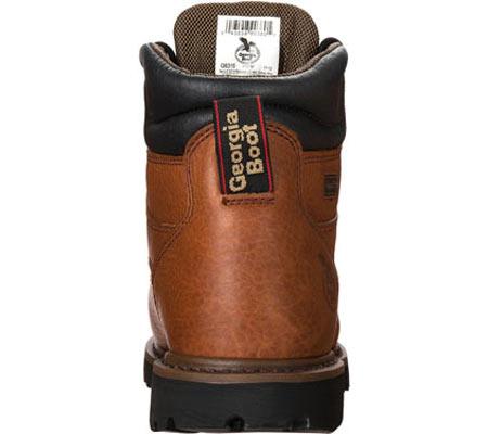 "Men's Georgia Boot G63 6"" Metatarsal Comfort Core Welt Work Boot, Greasy Briar Full Grain Leather, large, image 5"