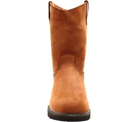 "Men's Georgia Boot G46 11"" Safety Toe SD Wellington Comfort Core, Chocolate Gaucho Oiled Nubuck, large, image 4"