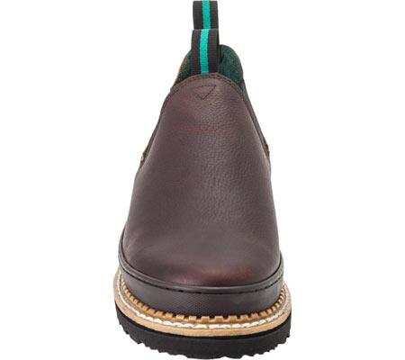 Women's Georgia Boot GR3 Romeo Chelsea Work Shoe, Soggy Brown Full Grain Leather, large, image 4