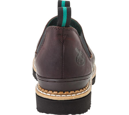 Women's Georgia Boot GR3 Romeo Chelsea Work Shoe, Soggy Brown Full Grain Leather, large, image 5