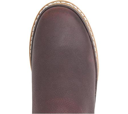 Women's Georgia Boot GR3 Romeo Chelsea Work Shoe, Soggy Brown Full Grain Leather, large, image 6