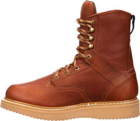 "Men's Georgia Boot G81 8"" Wedge Work Boot, Gold Coast Barracuda SPR Leather, large, image 3"