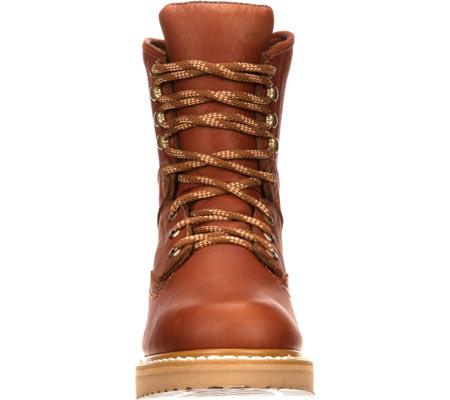 "Men's Georgia Boot G81 8"" Wedge Work Boot, Gold Coast Barracuda SPR Leather, large, image 4"