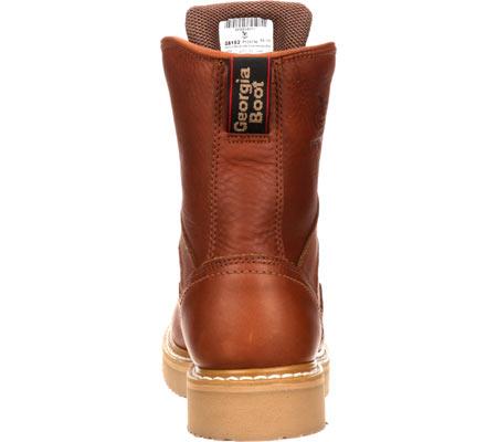 "Men's Georgia Boot G81 8"" Wedge Work Boot, Gold Coast Barracuda SPR Leather, large, image 5"