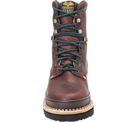 "Men's Georgia Boot G82 8"" Georgia Low Work Boot, Soggy Brown Full Grain Leather, large, image 3"