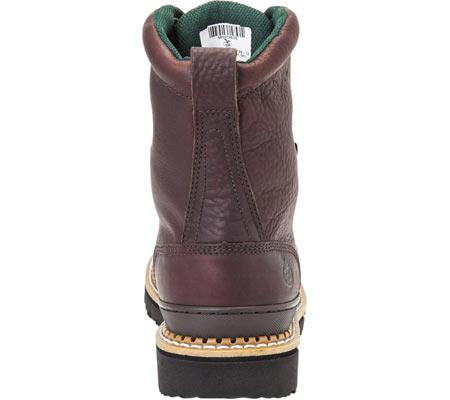 "Men's Georgia Boot G82 8"" Georgia Low Work Boot, Soggy Brown Full Grain Leather, large, image 4"
