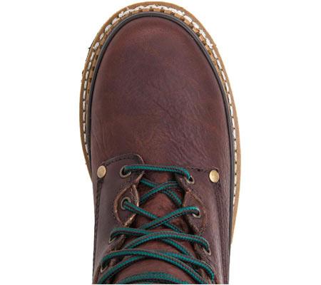 "Men's Georgia Boot G82 8"" Georgia Low Work Boot, Soggy Brown Full Grain Leather, large, image 5"