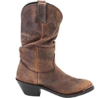 Women's Durango Boot RD542 11, Tan Distress Leather, large, image 2