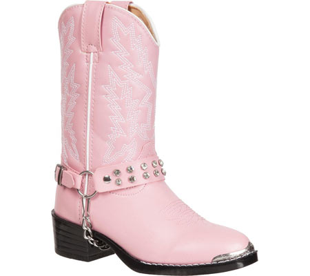 Infant Girls' Durango Boot BT568, Pink Rhinestone, large, image 1