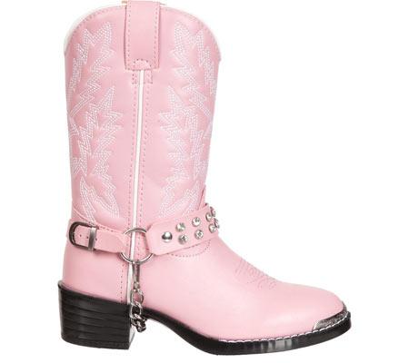 Infant Girls' Durango Boot BT568, Pink Rhinestone, large, image 2