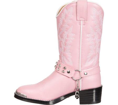 Infant Girls' Durango Boot BT568, Pink Rhinestone, large, image 3