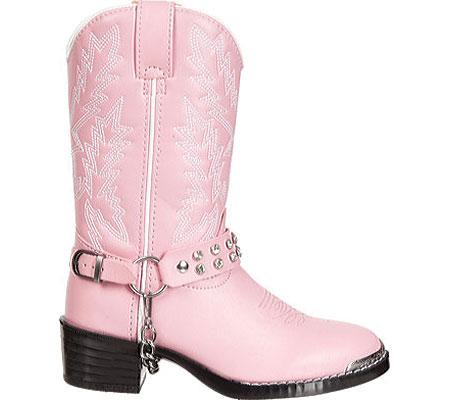 Girls' Durango Boot BT568, Pink Rhinestone, large, image 2