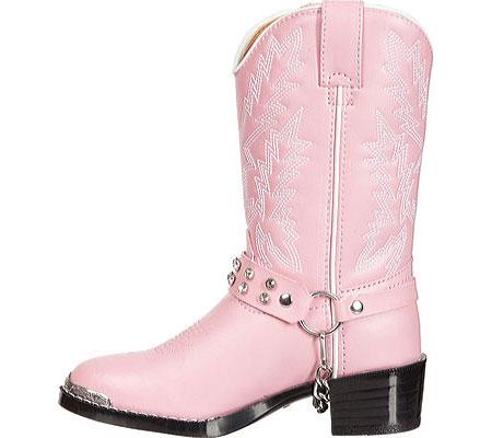Girls' Durango Boot BT568, Pink Rhinestone, large, image 3