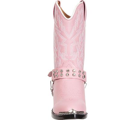 Girls' Durango Boot BT568, Pink Rhinestone, large, image 4