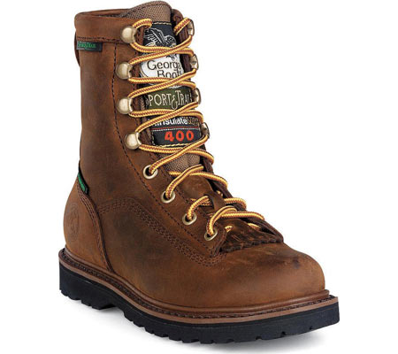 """Children's Georgia Boot G2048 6"""" Thinsulate, Mississippi Tan, large, image 1"""
