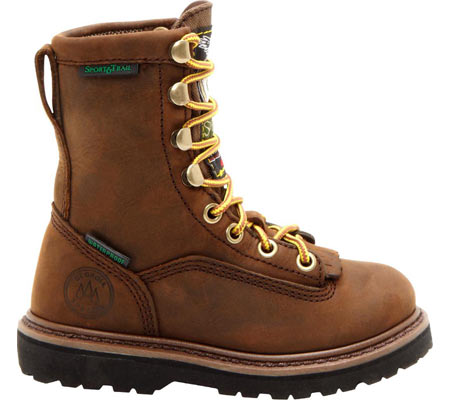 """Children's Georgia Boot G2048 6"""" Thinsulate, Mississippi Tan, large, image 2"""