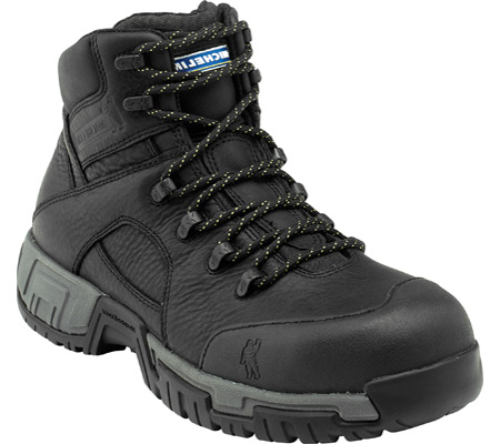 Men's Michelin HydroEdge XHY866, Black Leather, large, image 1