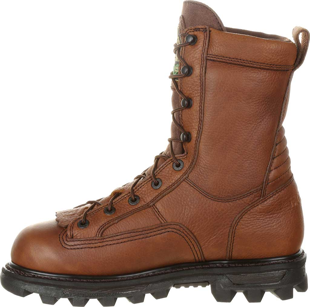 """Men's Rocky 9"""" Lace to Toe BearClaw 9234, Red/Brown Full Grain, large, image 3"""