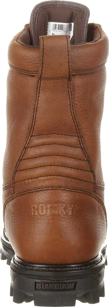 """Men's Rocky 9"""" Lace to Toe BearClaw 9234, Red/Brown Full Grain, large, image 4"""