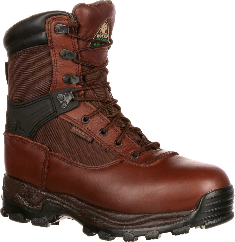 "Men's Rocky 8"" Rebels 6486 Boot, Dark Brown, large, image 1"