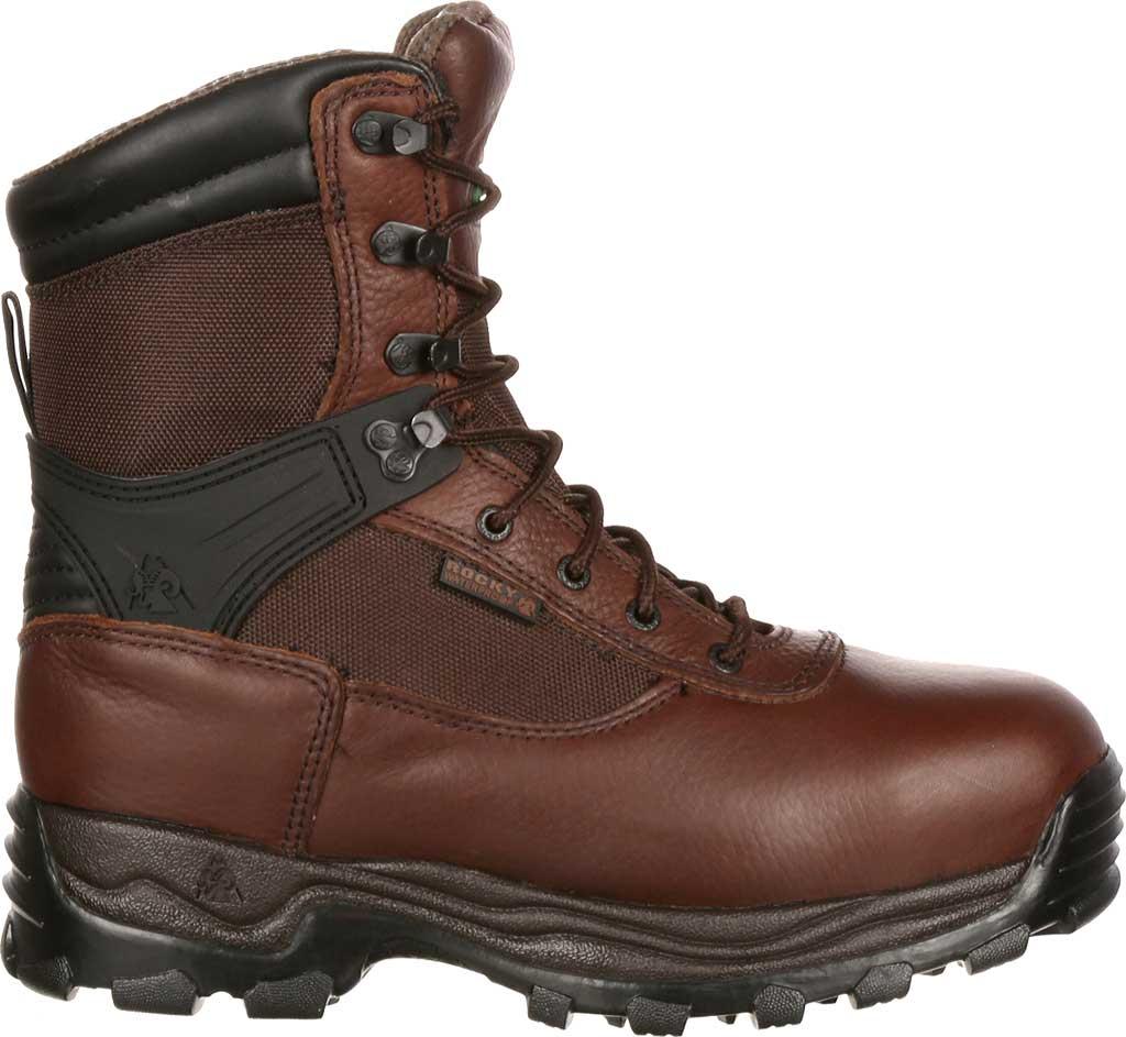 "Men's Rocky 8"" Rebels 6486 Boot, Dark Brown, large, image 2"