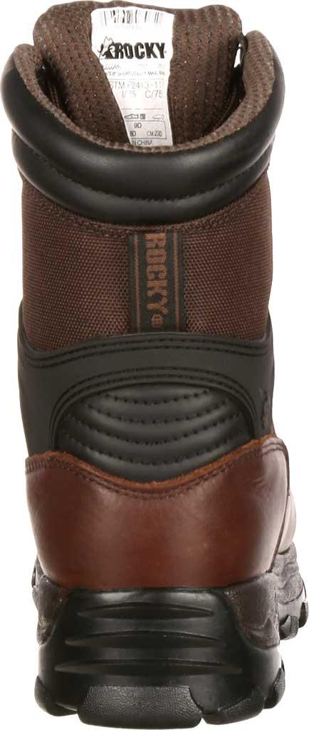 "Men's Rocky 8"" Rebels 6486 Boot, Dark Brown, large, image 5"