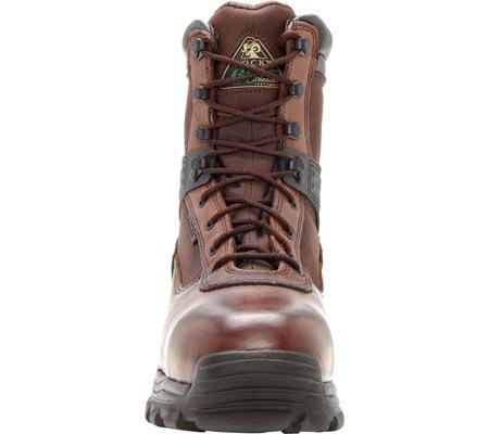 "Men's Rocky 8"" Rebels 6486 Boot, Dark Brown, large, image 4"