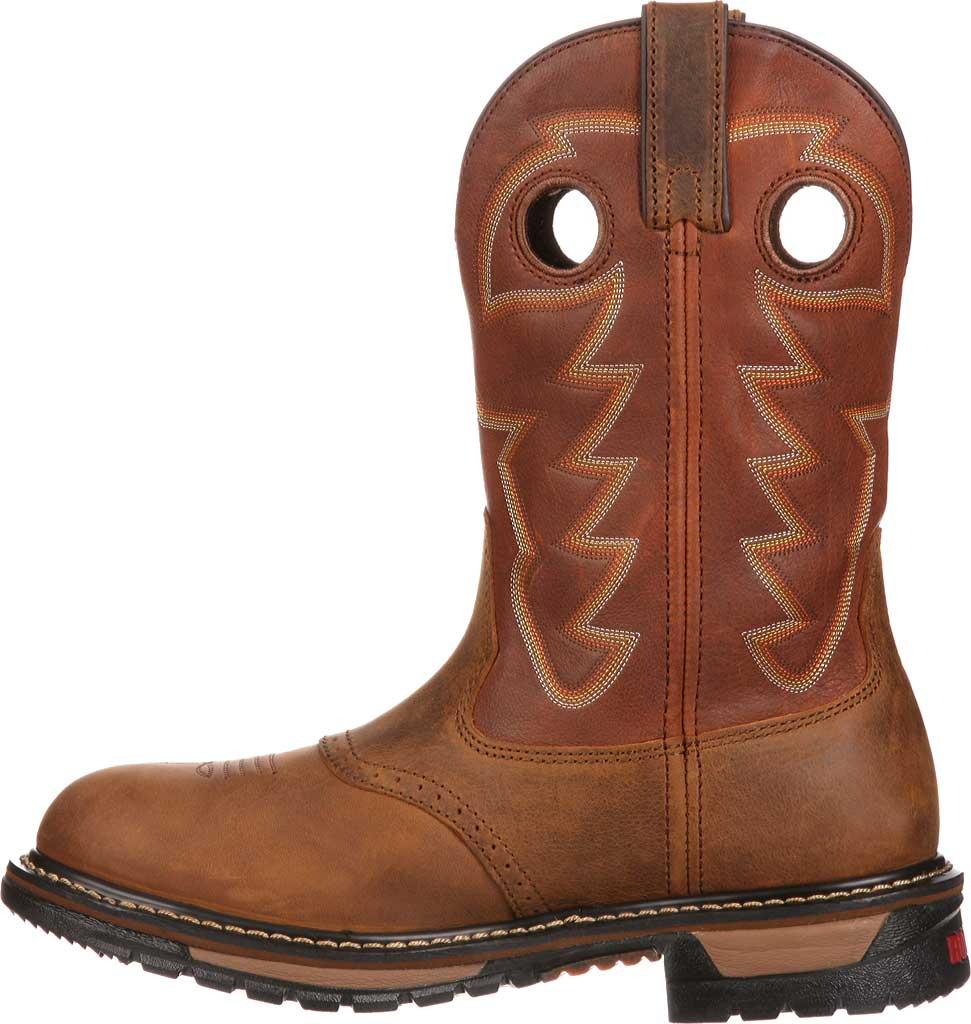 "Men's Rocky 11"" Branson Saddle Roper, Aztec Crazy/Ochre Leather, large, image 3"