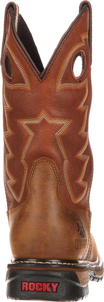 "Men's Rocky 11"" Branson Saddle Roper, Aztec Crazy/Ochre Leather, large, image 5"