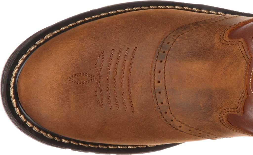 "Men's Rocky 11"" Branson Saddle Roper, Aztec Crazy/Ochre Leather, large, image 6"