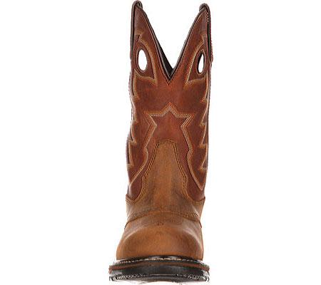"Men's Rocky 11"" Branson Saddle Roper, Aztec Crazy/Ochre Leather, large, image 4"